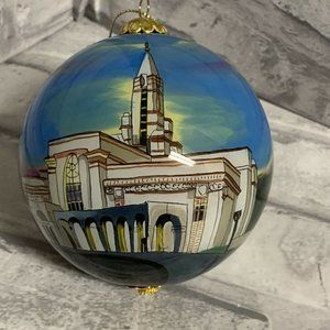 Bountiful Utah Temple Glass Ornament LDS Mormon